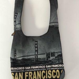 Robin Ruth City of San Francisco shoulder bag. EUC